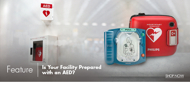 Feature | Is your facility prepared with an AED?